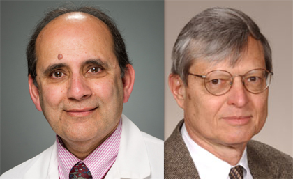 Rup Tandan, M.D., and Rodney Parsons, Ph.D.