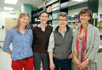 Drs. Rachel Oldinski, Mary Dunlop, Britt Holmen, and Jane Hill
