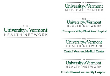 University of Vermont Health Network logos