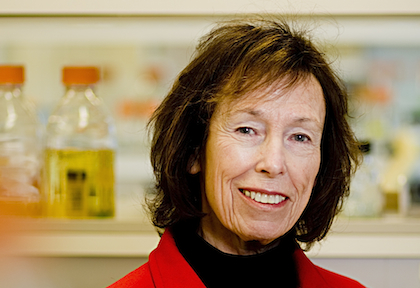 Susan Wallace, Ph.D., Professor and Founding Chair of the University of Vermont Department of Microbiology and Molecular Genetics and member of the Vermont Cancer Center