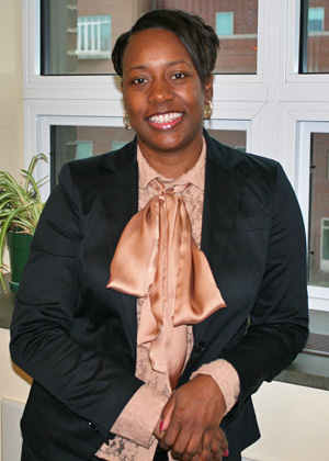 Yolanda Jordan, assistant to the associate dean in the Rubenstein School Dean's Office