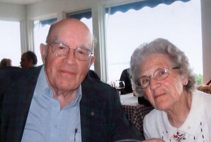 Burt and Celia Paquin