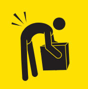 Icon of back pain