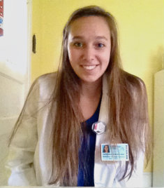 Radiation therapy major Jacqueline Berkoski '15