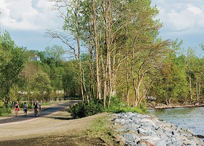 Burlington waterfront bikepath