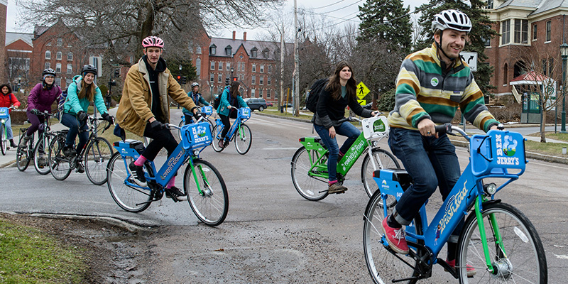Bikeshare launch