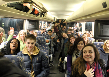 bus trip to D.C. climate rally