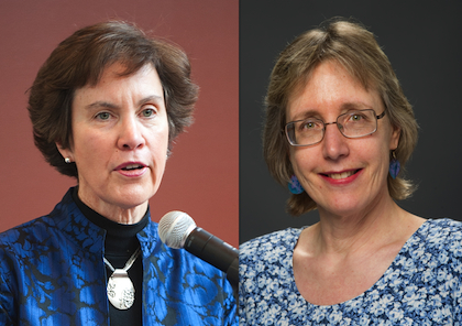 Jan Carney, M.D., M.P.H, Clinical Professor of Medicine and Associate Dean for Public Health and Mary Val Palumbo, D.N.P., A.P.R.N., Associate Professor of Nursing