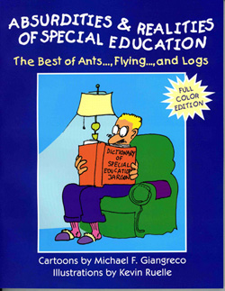 Cover of book: Absurdities and Realities of Special Education