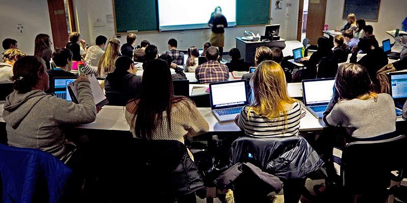 UVM classroom