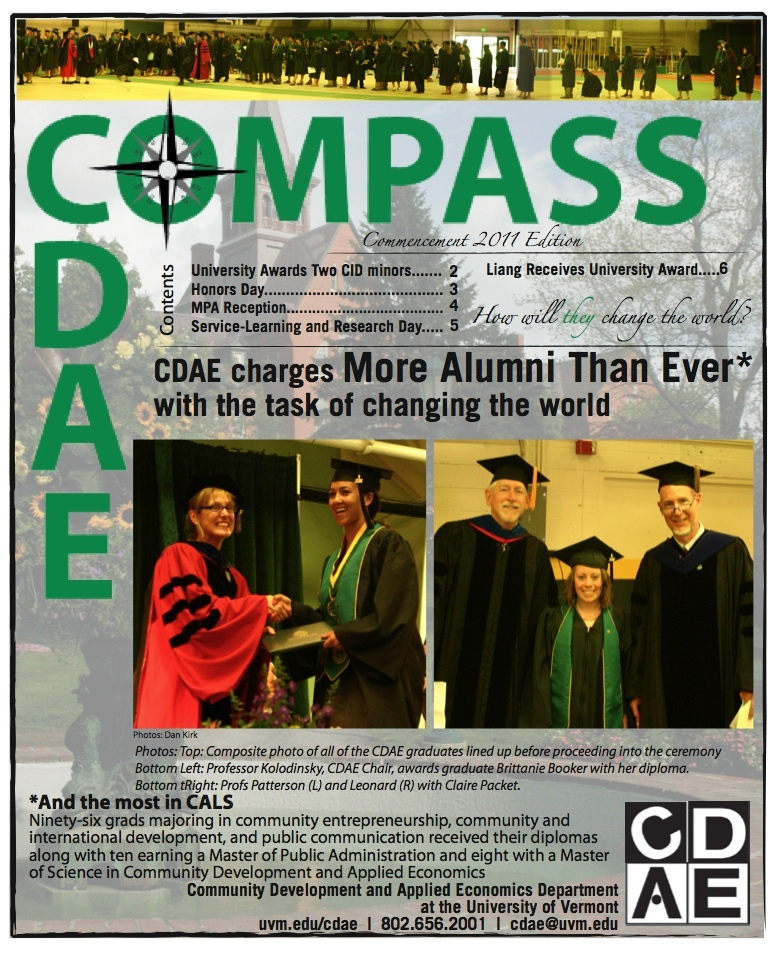 Commencement 2011 Cover
