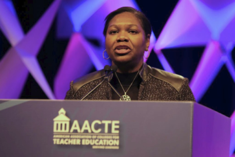 Dr. Fayneese Miller speaks at AACTE in 2012