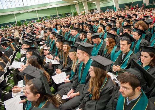 December graduation photo