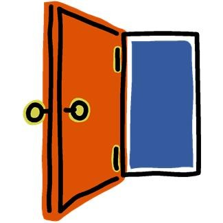 icon of a door opening