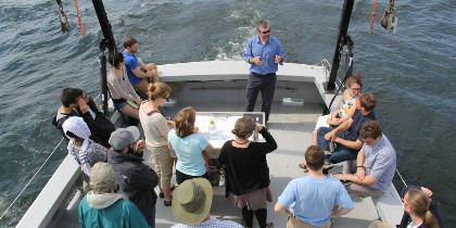 Lake Champlain University of Vermont research PhD MA students recruiting positions job opportunities study environmental research ecosystems Economics for the Anthropocene