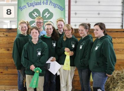 Group Photo of Participating 4-H'ers