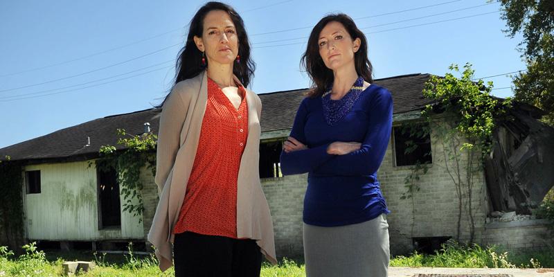 Alice Fothergill and Lori Peek