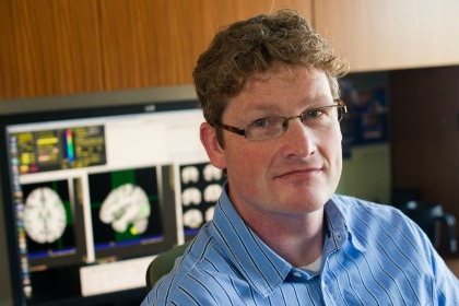 UVM Associate Professor of Psychiatry Hugh Garavan, Ph.D. (Photo: COM Design & Photography)