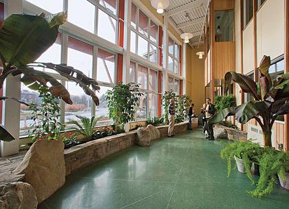 Aiken Center lobby