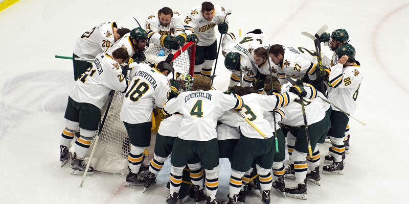 UVM Hockey team