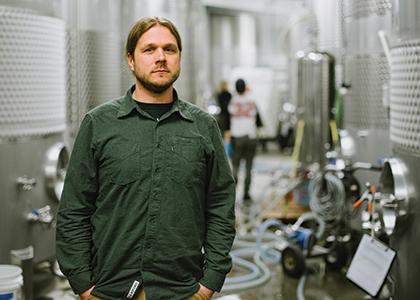 Bryan Holmes at Citizen Cider