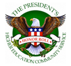 President's Higher Education Community Service Honor Rol