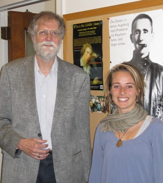 Prof. Dennis Mahoney and Jana Autor