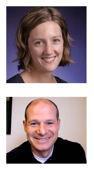 Photo of Dr. Jessica Strolin-Goltzman and Dr. Jesse Suter