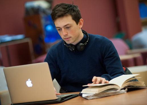 Student Joseph Friedman