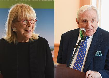 Joan and Eugene Kalkin