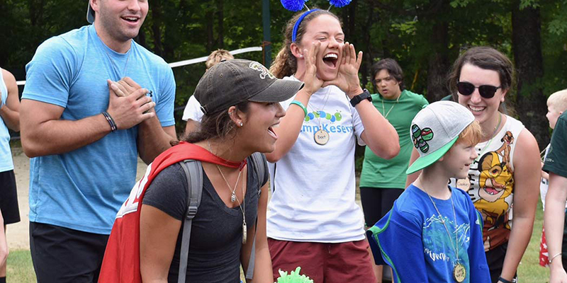 Counselors at Camp Kesem