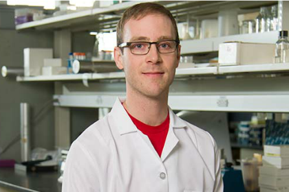University of Vermont College of Medicine graduate student Benjamin King