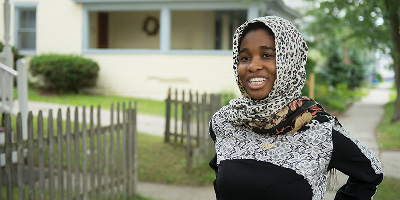 Student Madina Haji