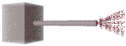 helium nano-pipe