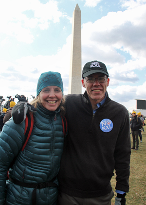 Bill McKibben and Amy Seidel