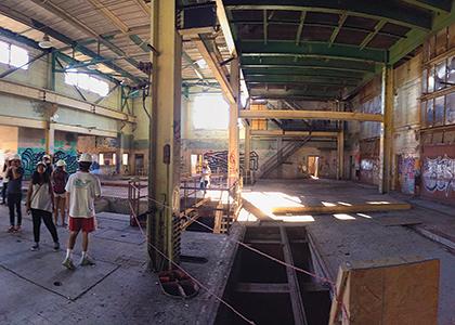 Interior of Moran Plant