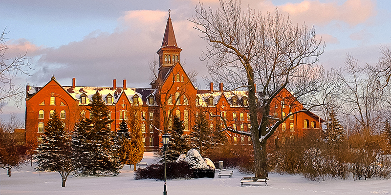 Old Mill photo, UVM campus