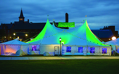 homecoming reunion tent