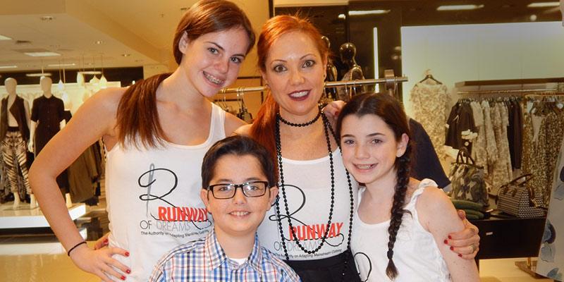 Mindy Scheier and family