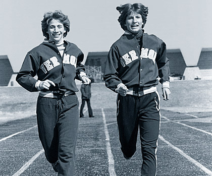 Janet Lynch and Janet Terp
