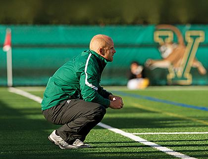 Soccer coach Jesse Cormier