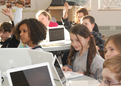 Tarrant technology in classroom