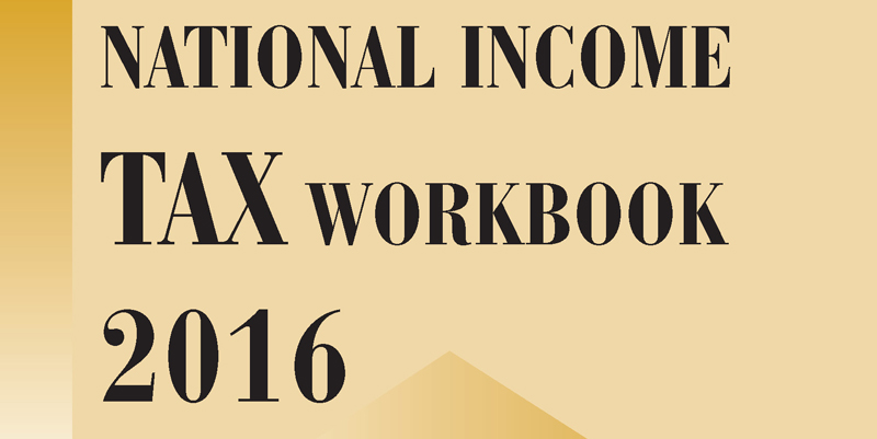 national income tax workbook