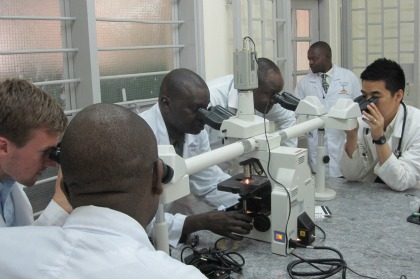 Uganda Cancer Institute and The Microscope Exchange