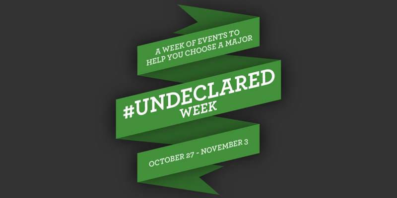 Undeclared Week graphic