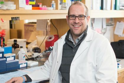 Jos Van Der Velden, Ph.D., University of Vermont Assistant Professor of Pathology and member of the Vermont Cancer Center at UVM/Fletcher Allen