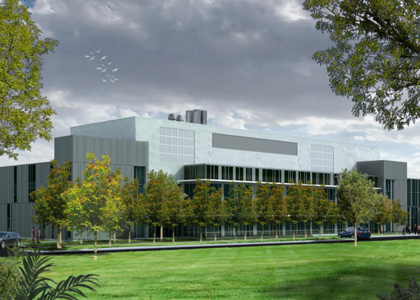 Vermont Department of Health laboratory rendering