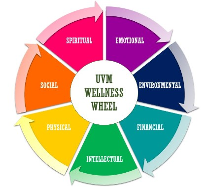 UVM Wellness Wheel