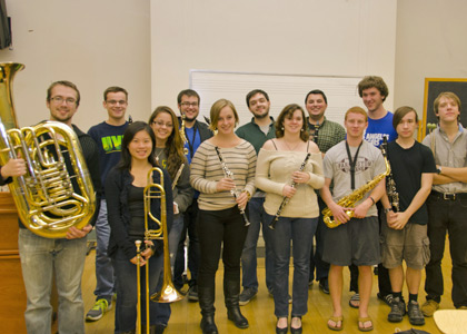 UVM Wind Ensemble image