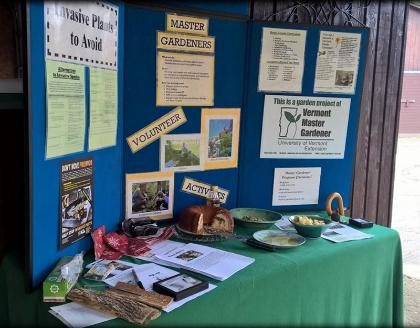 master gardener information table